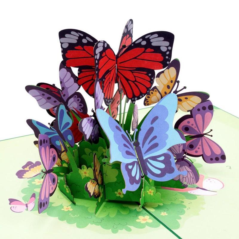 Butterflies Pop Up C...