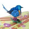 Blue Bird Pop Up Card