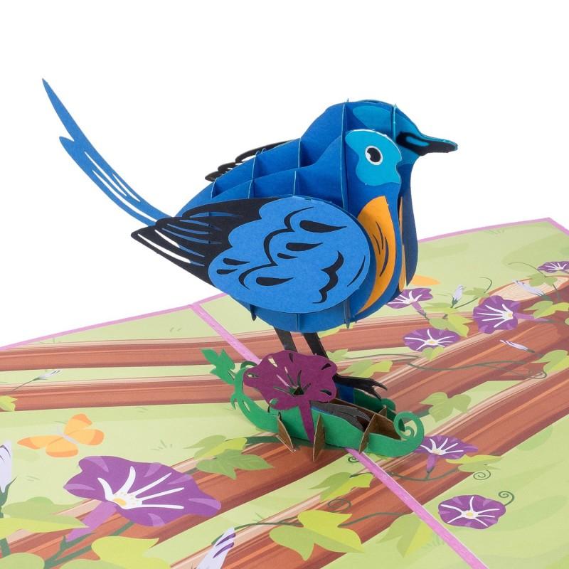 Blue Bird Pop Up Car...
