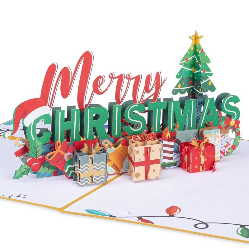 Merry Christmas Pop Up Ca...