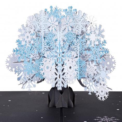 Snow Tree Pop Up Card