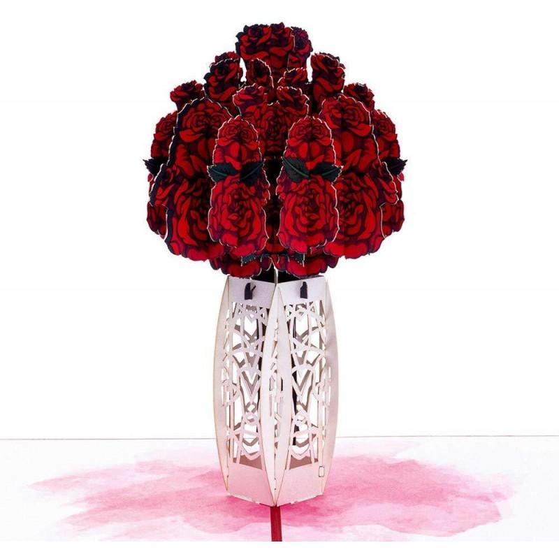 Rose Bouquet Pop Up ...