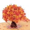 Autumn Tree Pop-up card