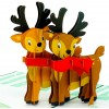 Reindeer Pop Up Christmas Card