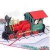 Christmas Train Pop Up Card