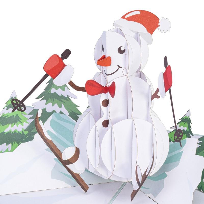 Snowman Pop Up Chris...