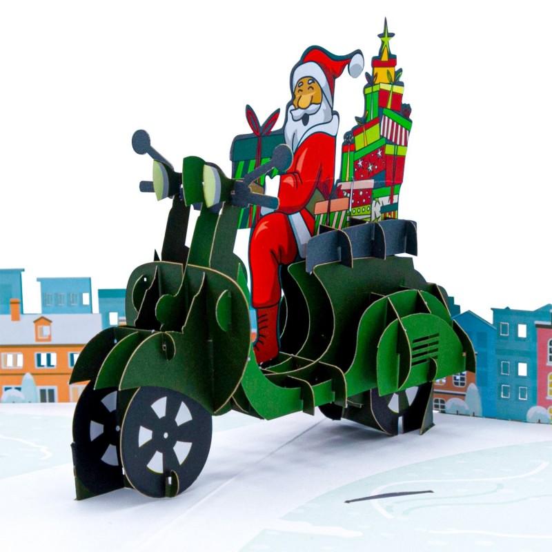 Santa's Biker Pop Up...