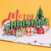 Merry Christmas Pop Up Card
