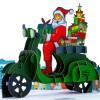 Santa's Biker Pop Up Christmas Card