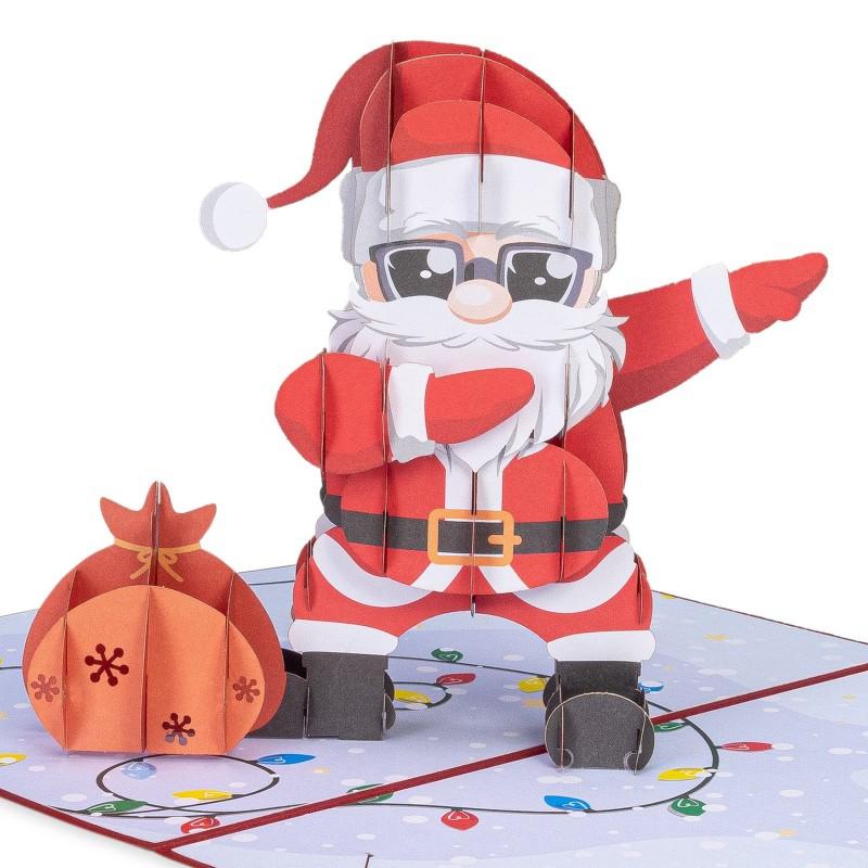 Dancing Santa Pop-up Chri...
