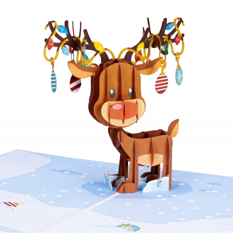 Reindeer Ornament Po...