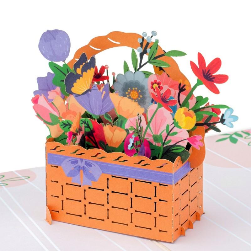 Flower Basket Pop Up...