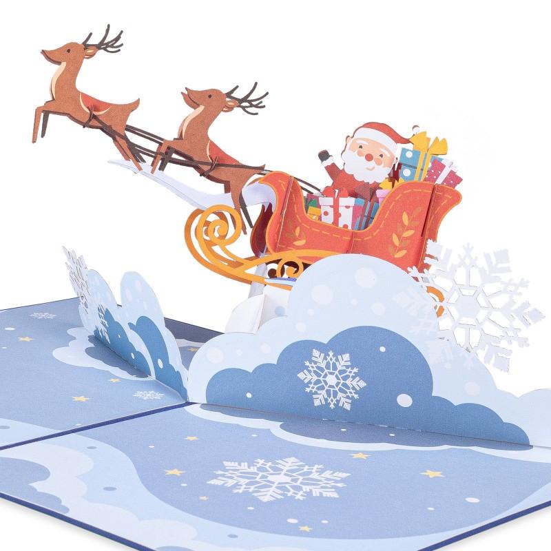 Santa Sleigh Pop Up ...