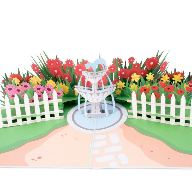 Garden Pop Up Card