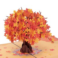 Autumn Tree Pop-up card