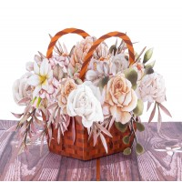 Rustic Flower Basket pop-...