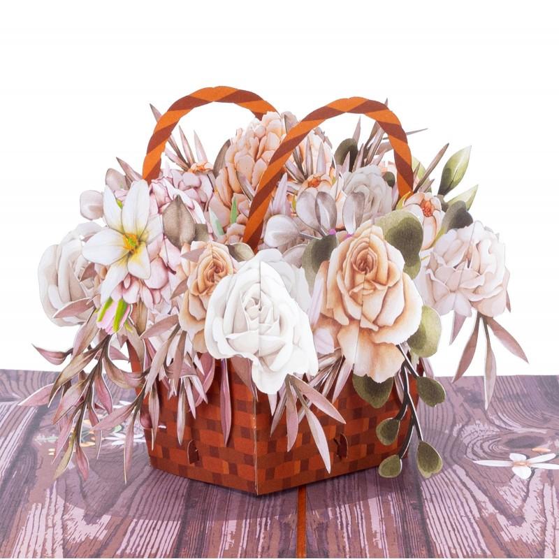 Rustic Flower Basket pop-...